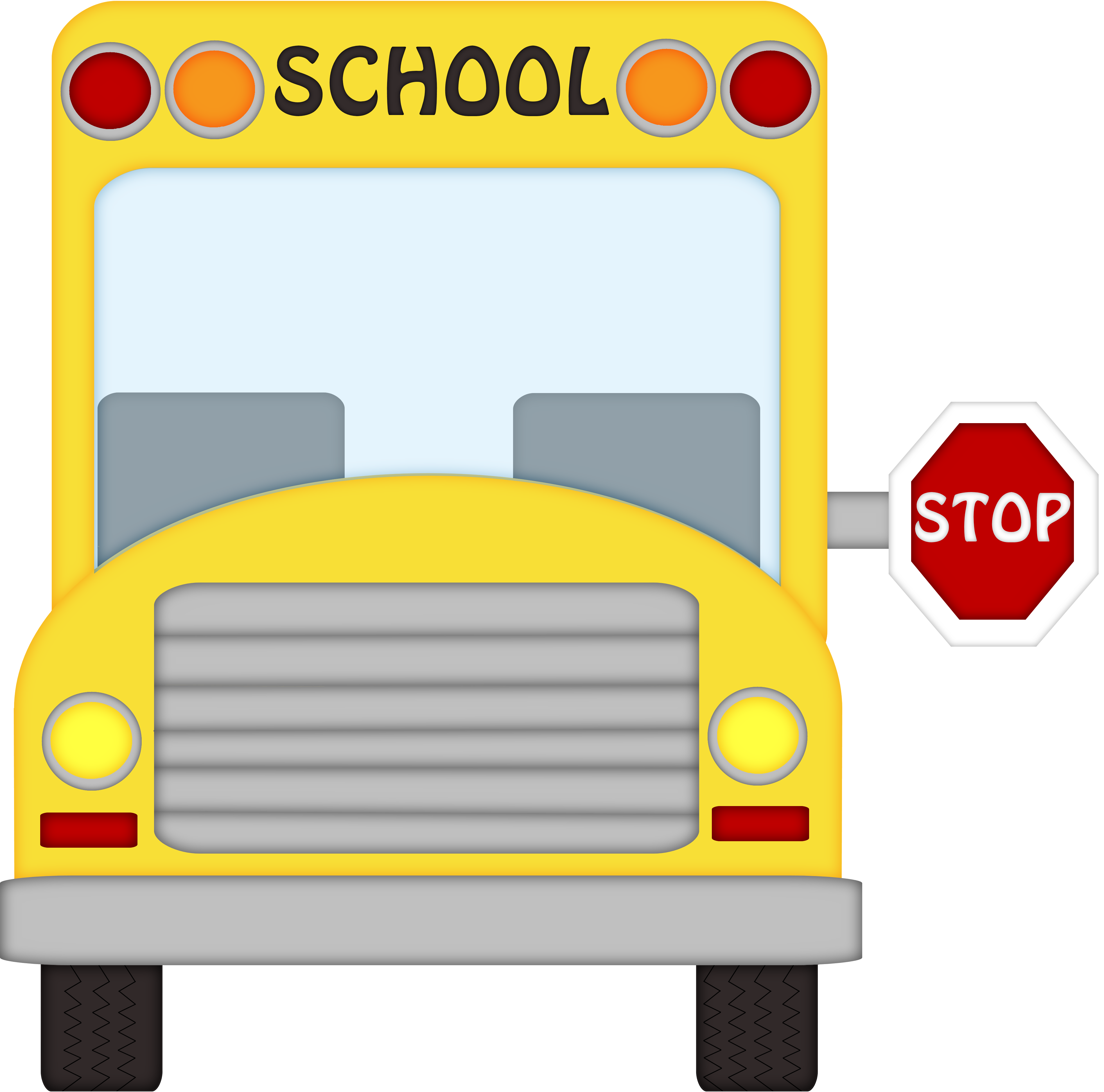 back to school bus clipart - photo #27
