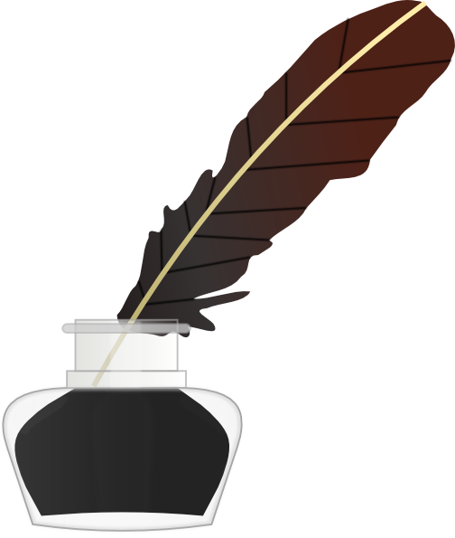 Quill And Paper Png Feather Pen And...