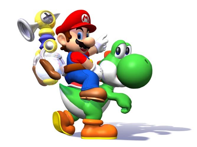 Mario and yoshi clipart best - Nintendo clipart ...
