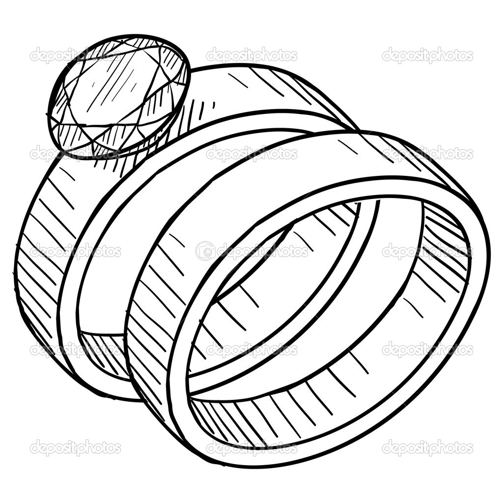 interlocking wedding rings clipart - photo #21