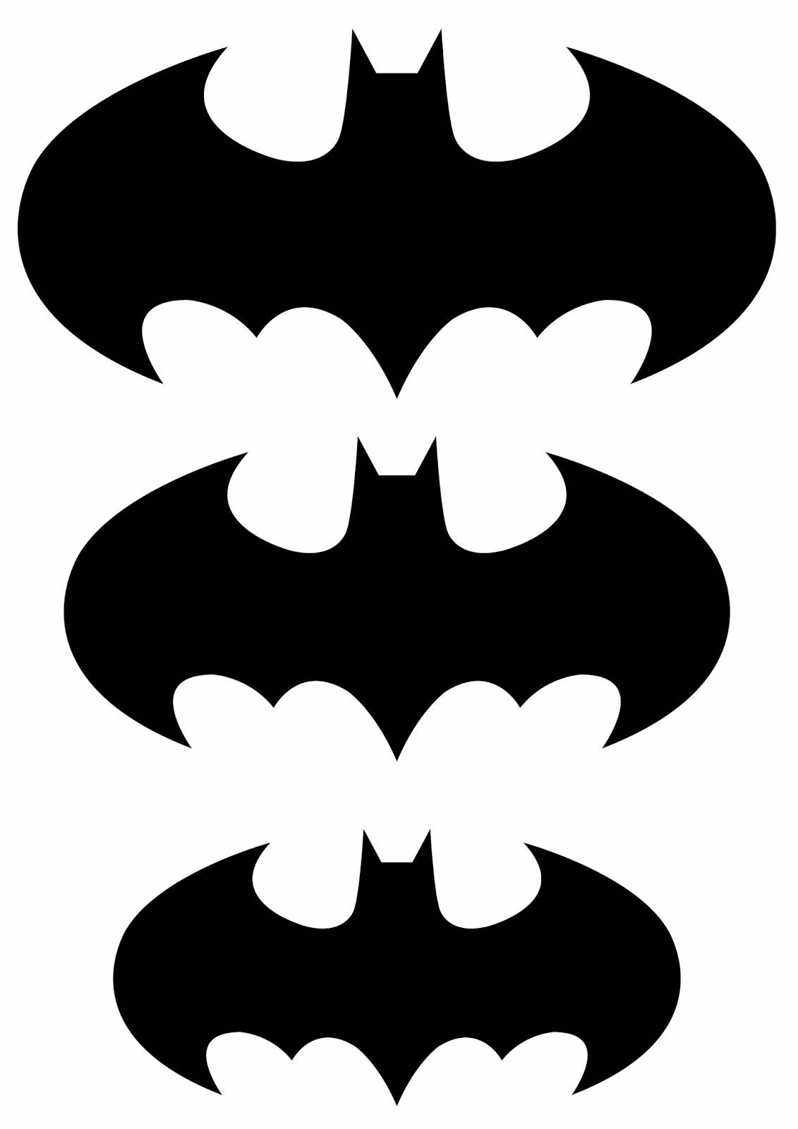 Batman Cake Stencil Clipart Best
