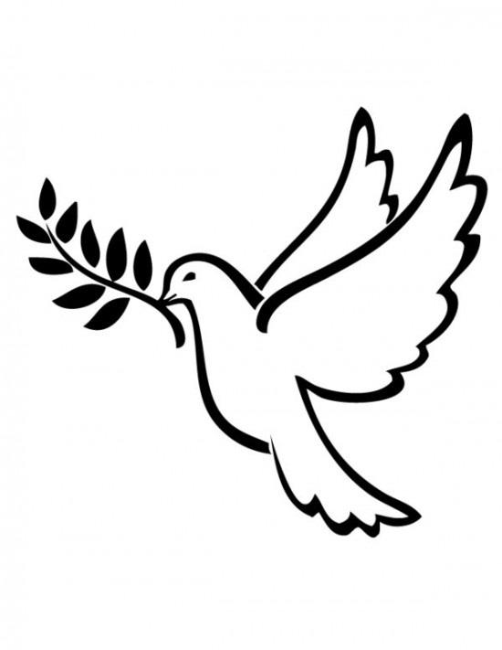 Gallery Of Peace Sign Coloring Pages - Coloring Book - Free ... | 711x550