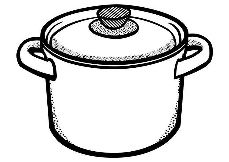 pots coloring pages | Pot Colouring Pages - ClipArt Best