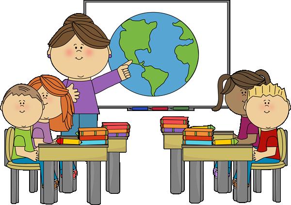 Teacher And Children Clipart - ClipArt Best