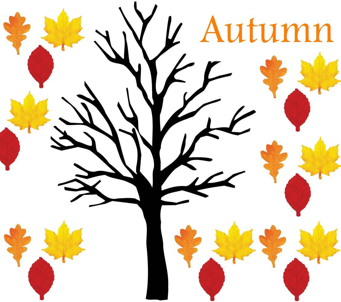 bare fall tree clip art - photo #32