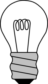 Christmas Light Bulb Coloring Page - Free Clipart ...