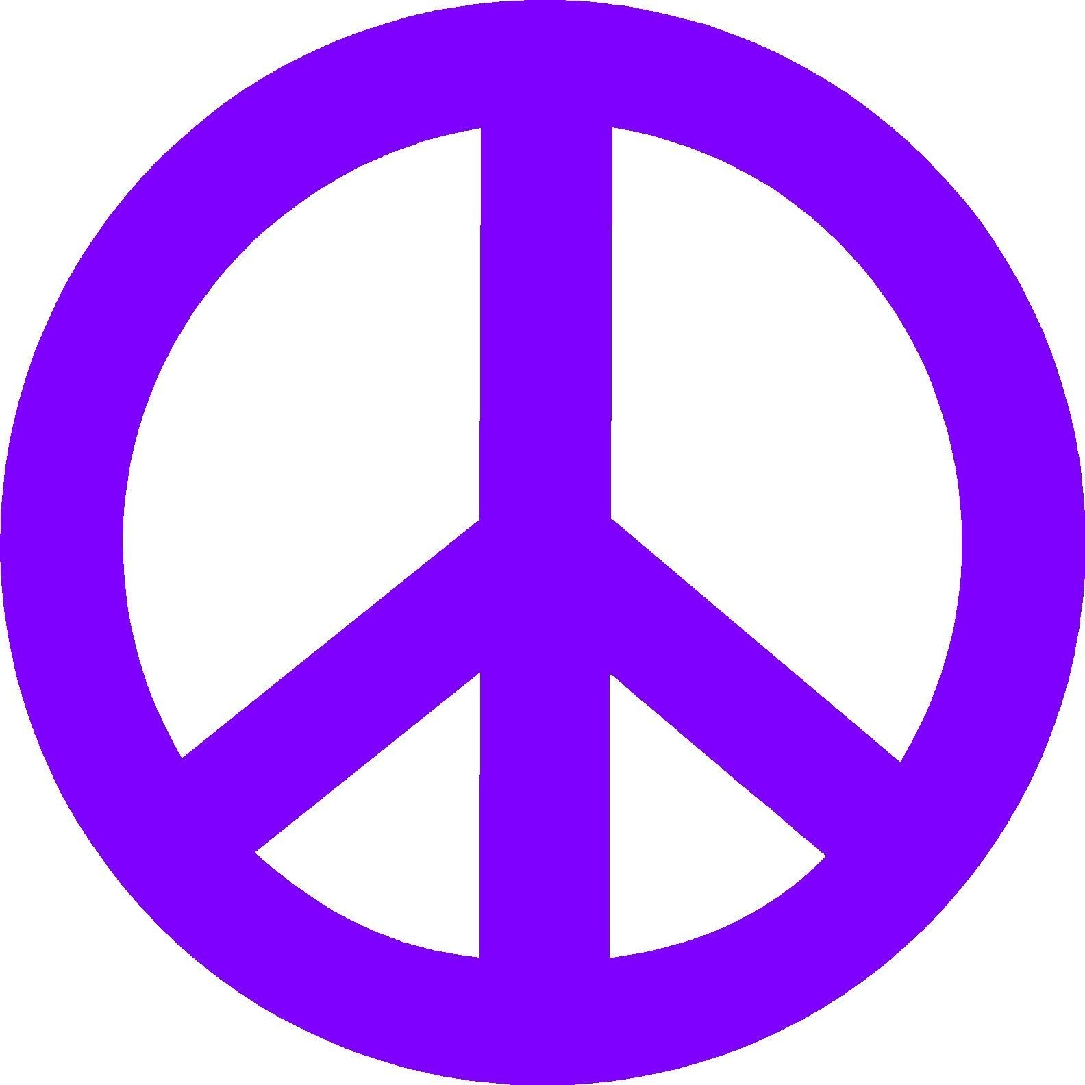 Hippie Peace Sign - ClipArt Best