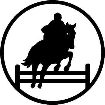 Horse Jumping Silhuette - ClipArt Best