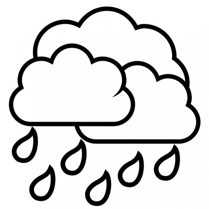 Raindrop Line Drawing Rain Drop Free Vector For