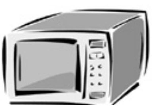 Microwave image - vector clip art online, royalty free & public domain ...