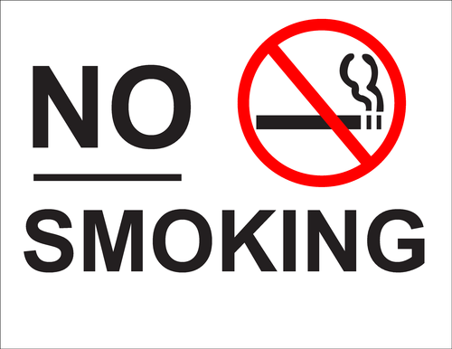no smoking speech