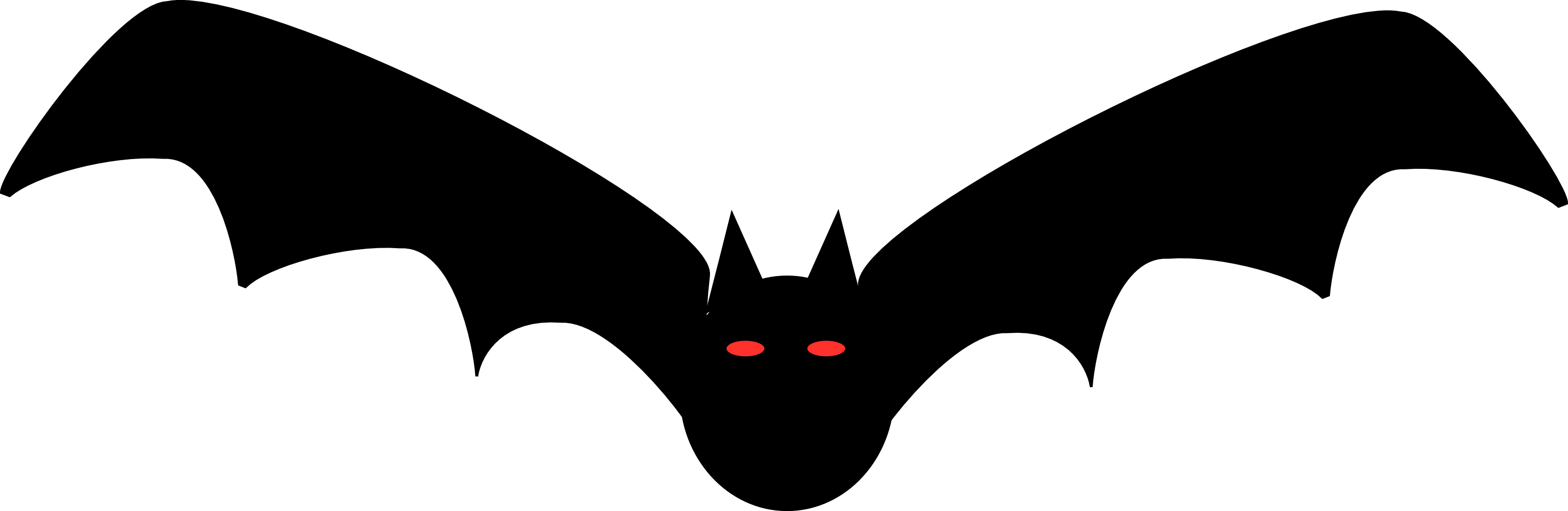 Image - 111-Free-Halloween-Clipart-Illustration-Of-Black-Bat-With ...