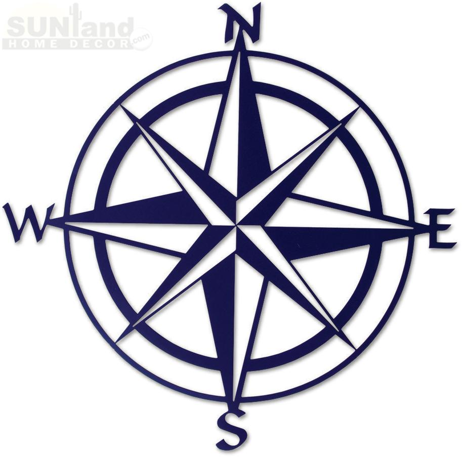 Compass Rose Map - Cli...