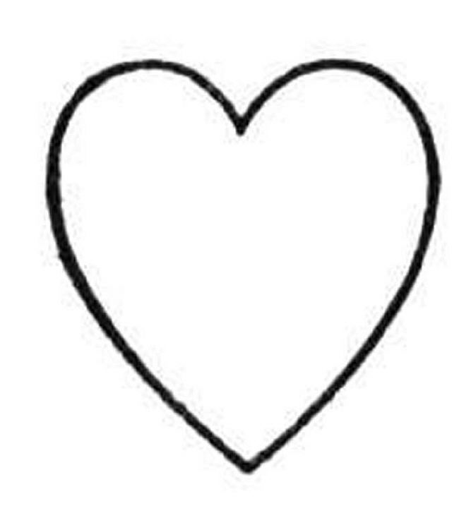 Valentine S Heart Coloring Pages Clipart Best Clipart Best