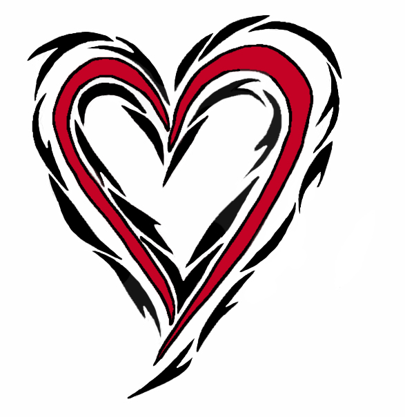 Go Back > Gallery For > Cool Heart Designs