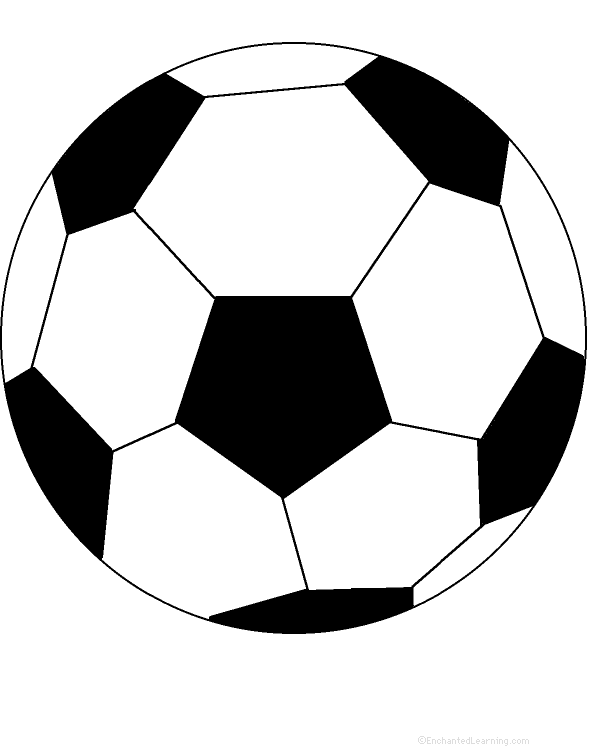 Rare image pertaining to soccer ball printable