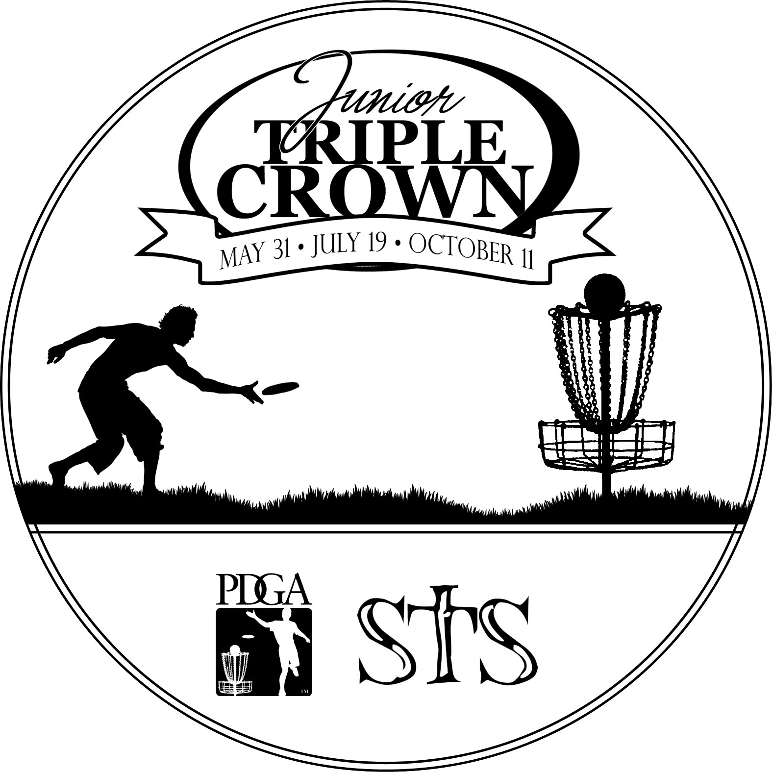 Frisbee Golf Logo Disc golf atlanta: tournaments