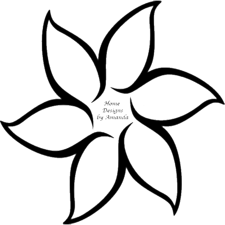 Pictures Of Flowers To Trace - ClipArt Best