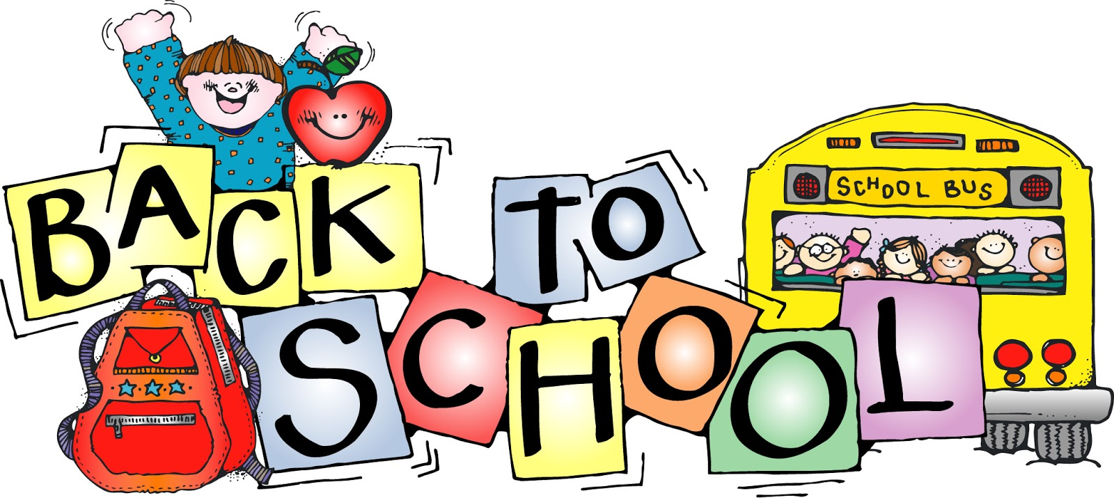 Free clip art back to school
