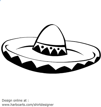 Mexican Sombrero Hat | Free Download Clip Art | Free Clip Art | on ...