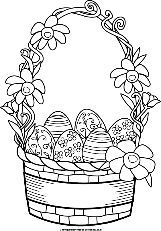 easter images black and white clipart best