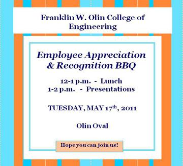 Employee Appreciation Day Invitation #19 | 540 x 720 ...