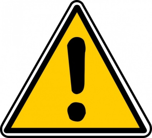 Yellow Triangle Sign With Exclamation Mark Download Free