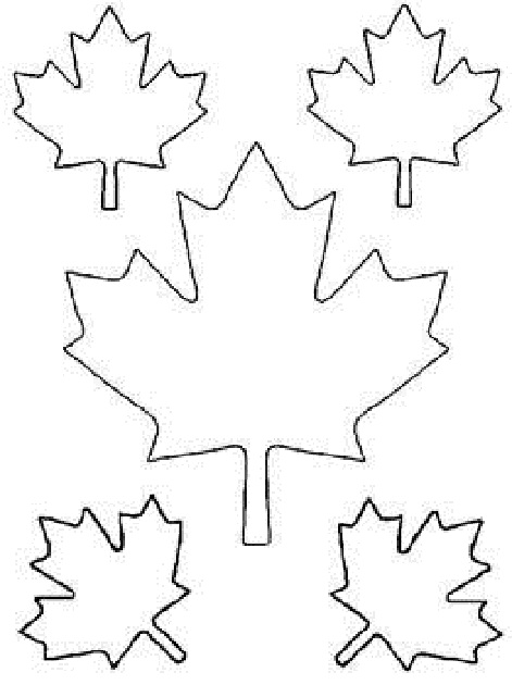 Maple Leaf Cut Out Templates Of Canada Day Coloring Pages - ClipArt  Best - ClipArt Best