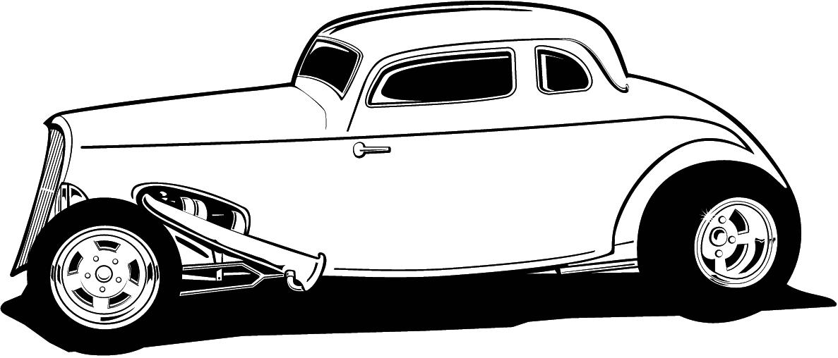FREE CARTOON HOT ROD CAR CLIPART - ClipArt Best