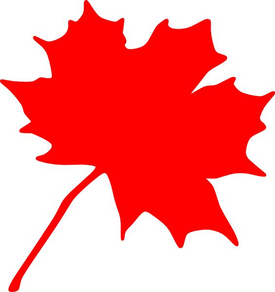 Canada maple leaf clipart