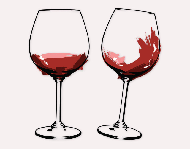 wine glass drawing clipart best