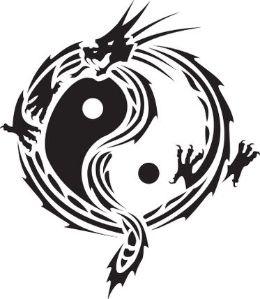 Logo Yin Yang Clipart - Free to use Clip Art Resource