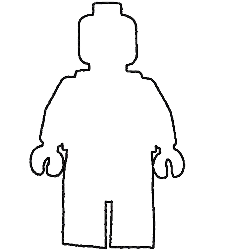 Rare image for printable person template
