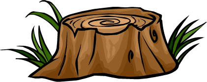 Tree Stump Cartoon - ClipArt Best