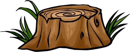 Tree Stump Cartoon - ClipArt Best