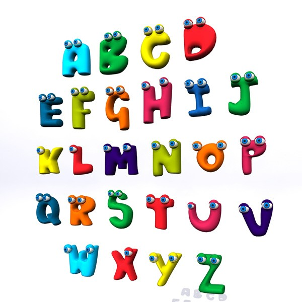 THE ANIMATED ALPHABET SONGS  Q R S T  freemusicdownloadme