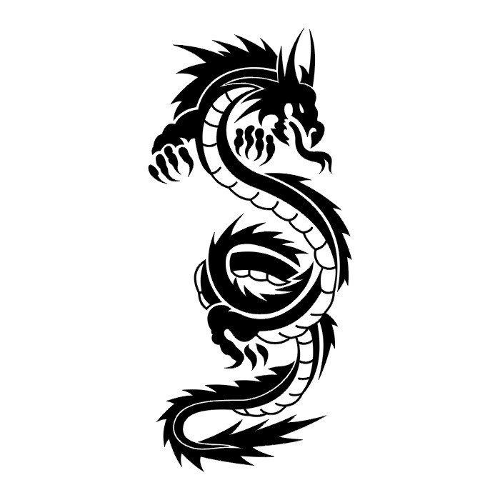 dragon black and white tribal wallpaper clipart best