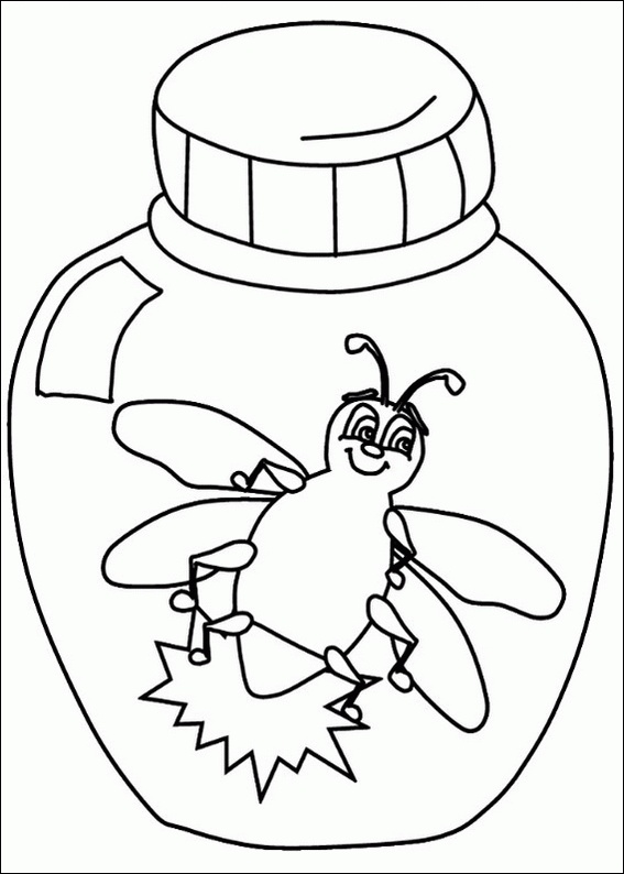 lightning bug  coloring page  clipart best, printable coloring