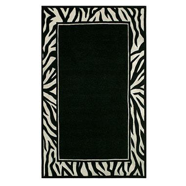 zebra border paper