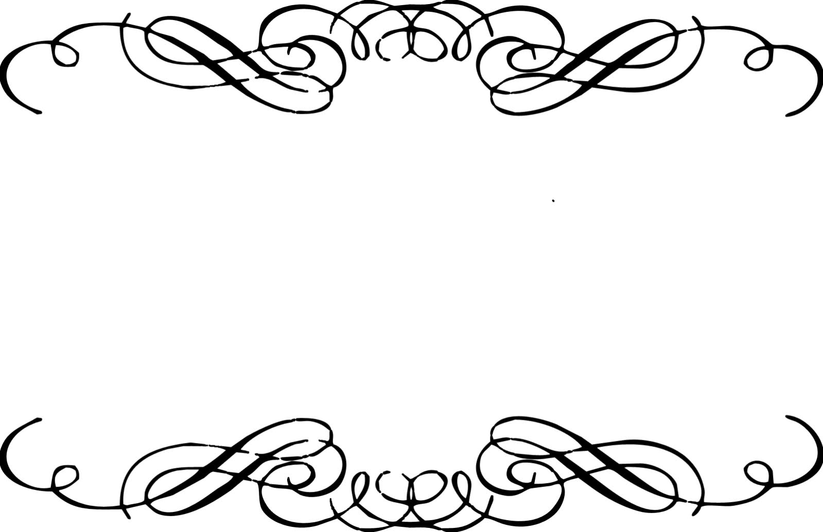 Fancy Lines Clip Art - Tumundografico