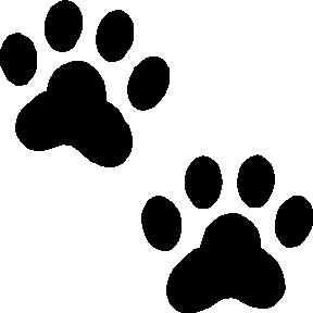 Best Photos of Template Of Dog Paw Print - Dog Paw Print Clip Art ...