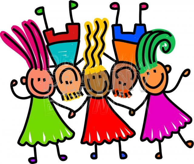 Group Of Toddlers Clip Art - ClipArt Best