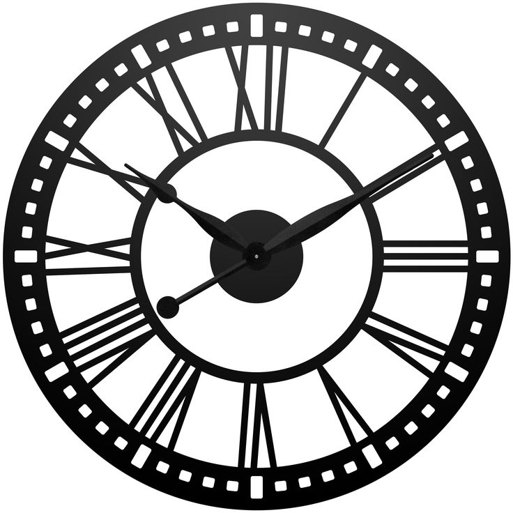 Clock Face Seven Fifteen Drawing - ClipArt Best