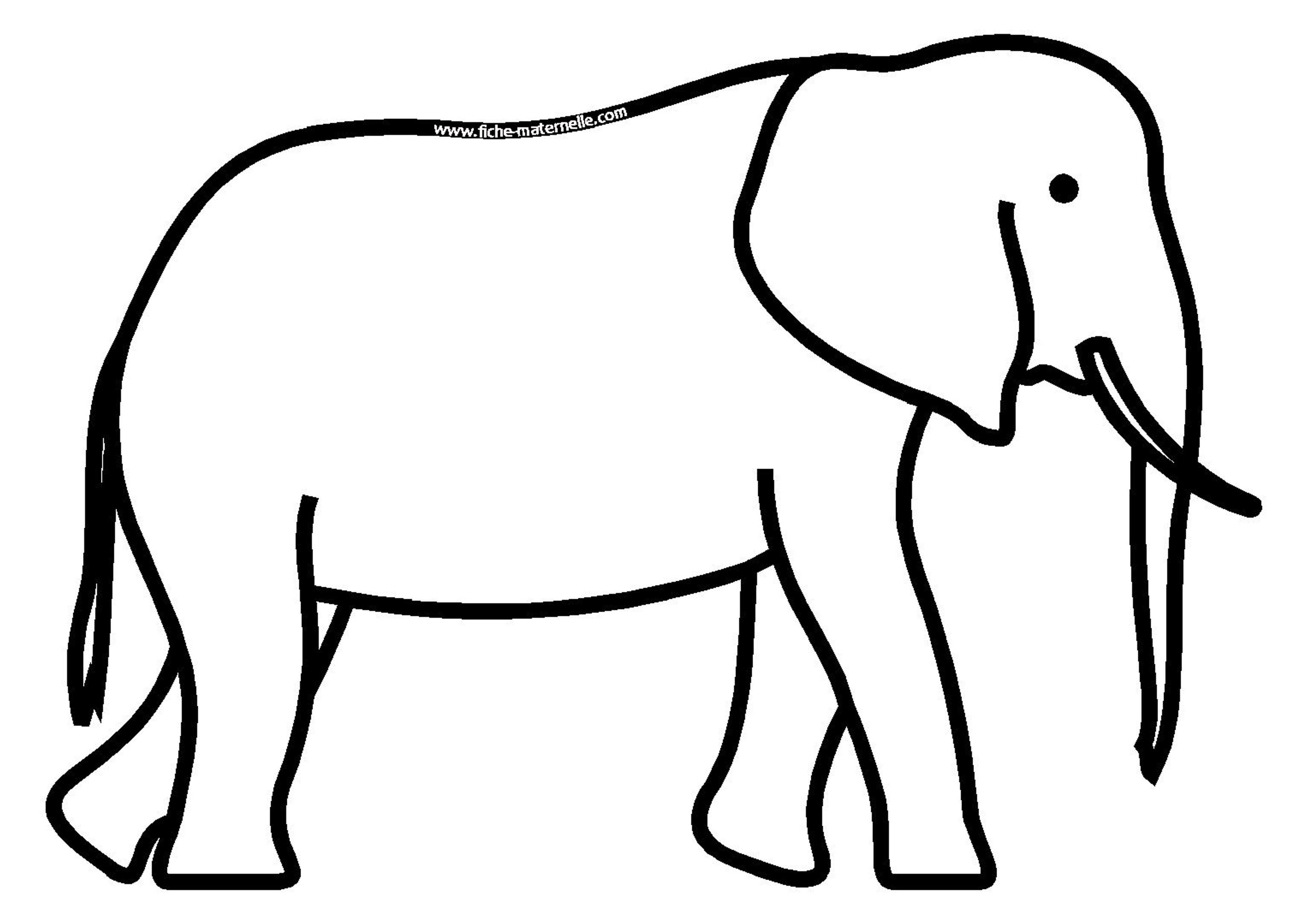 Dessin Elephant - ClipArt Best