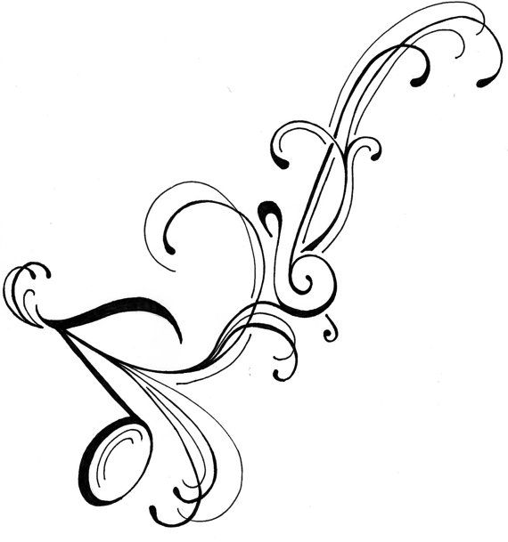 clef note tattoo designs clipart best. Black Bedroom Furniture Sets. Home Design Ideas