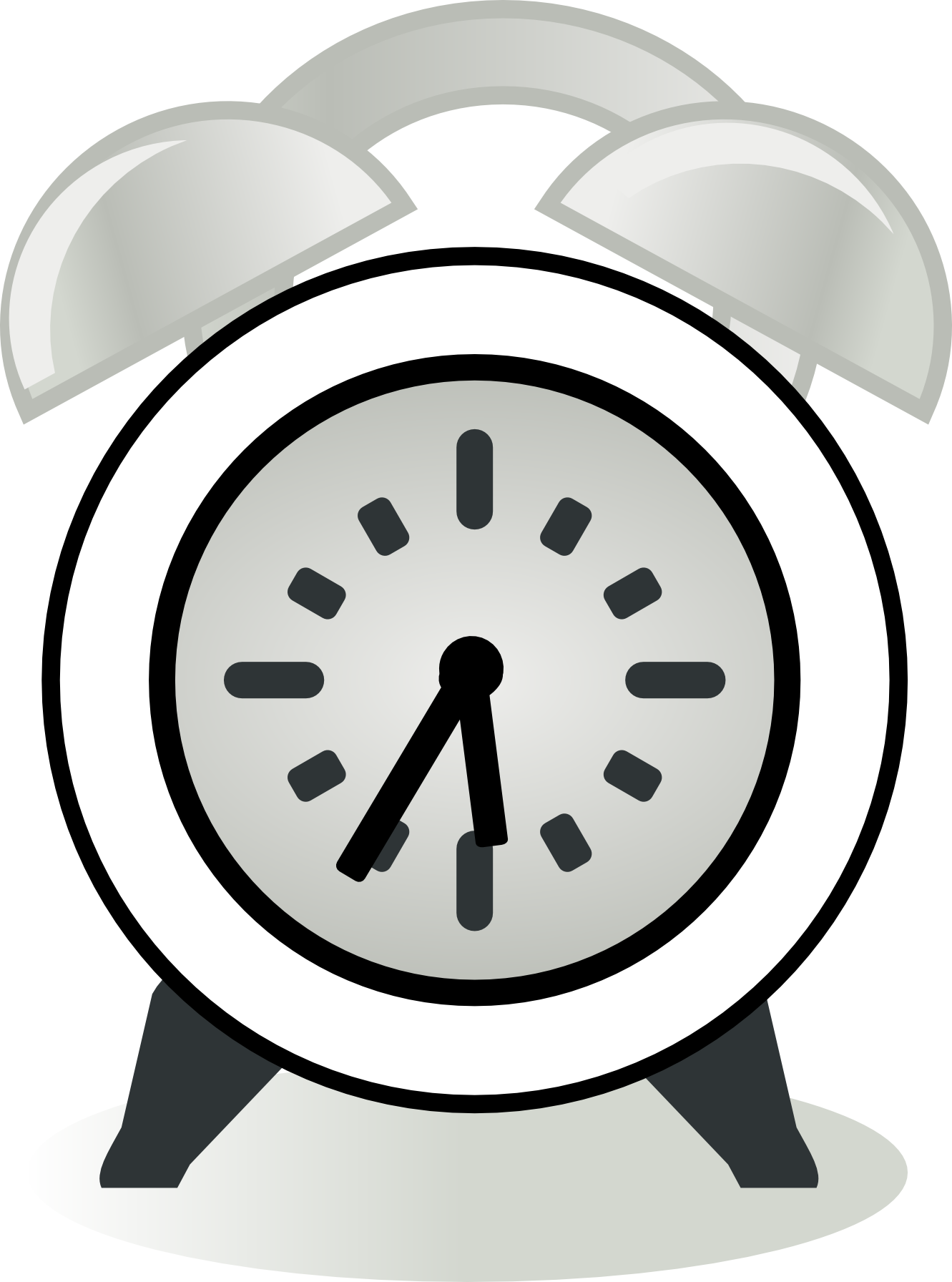 clock clipart black and white free - photo #41