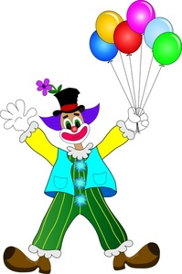 Clowns Free Printable Clipart