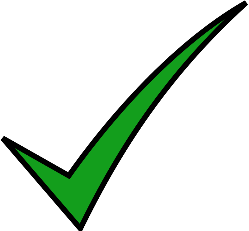 Check Mark Png - ClipArt Best