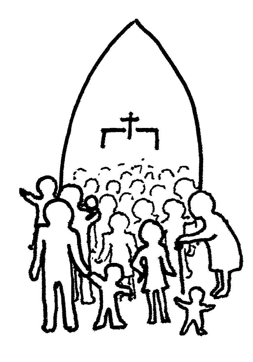 Church Line Drawing 11 Church Line Drawing