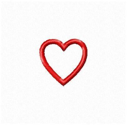 Small heart clip art free - ClipartFest